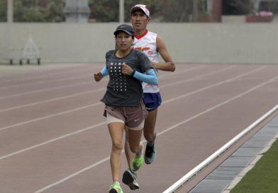 Gladys Tejeda entrenó en Lima esta semana y confirma su compromiso con miras a Tokio 2020