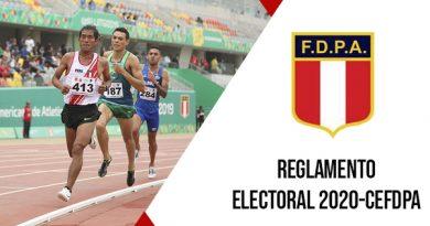 Reglamento de Elecciones de la Federación Deportiva Peruana de Atletismo