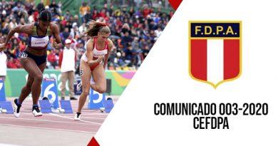 COMUNICADO N° 003 CEFDPA – Resultados elección